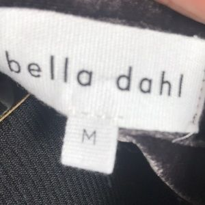 Bella Dahl Tops - NEW Bella Dahl Plum Velvet Button Down Shirt